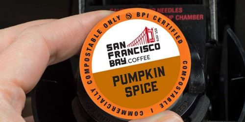SF Bay Coffee Pumpkin Spice 80-Count Pods Just $16.53 Shipped on Amazon | Only 21¢ Each