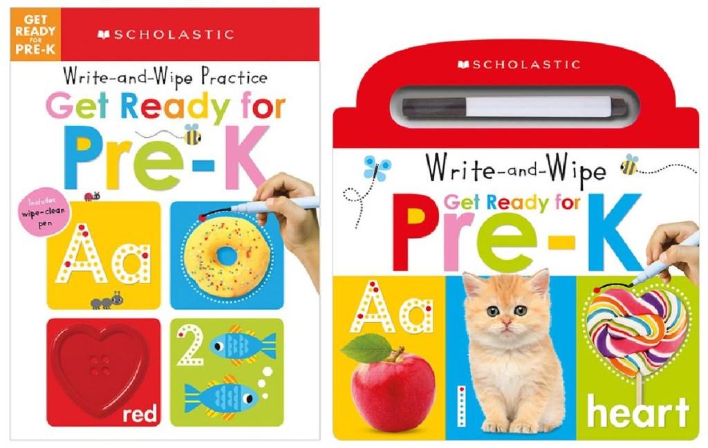 Scholastic Write and Wipe board books