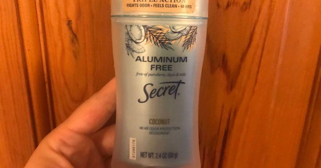 Secret Aluminum Free