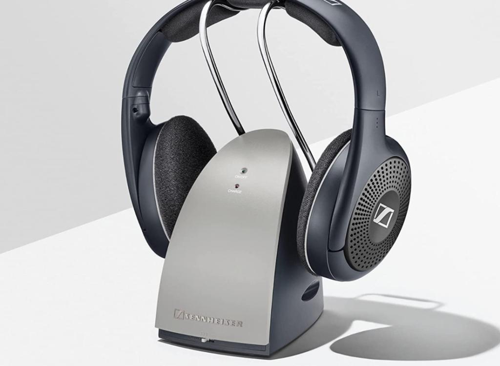 Sennheiser Headphones on dock