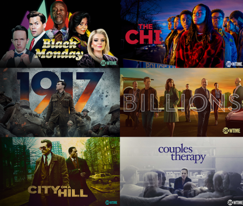 shows available on Showtime