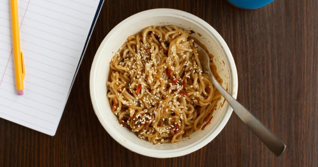 simply asia sesame bowl