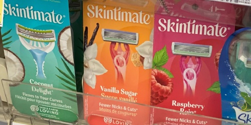 $13 Worth of New Skintimate & Schick Coupons = FREE Razors After Cash Back at Target
