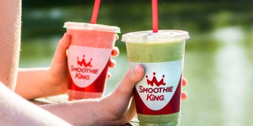 FREE 20oz Smoothie King Coupon w/ Purchase on June 21st | Free Delivery, $2 Reward, & More