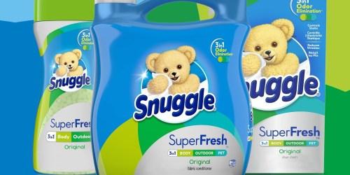 Snuggle Super Fresh Fabric Softener 95oz Bottle Only $6.80 on Amazon (Regularly $13)