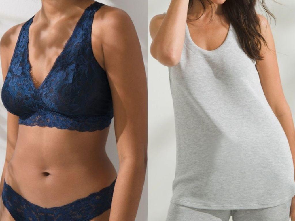 women wearing soma clothing and bra