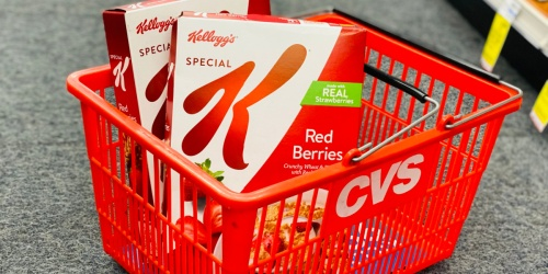 Special K Cereal Only $1.49 at CVS (Regularly $5.29) | Starting 6/20