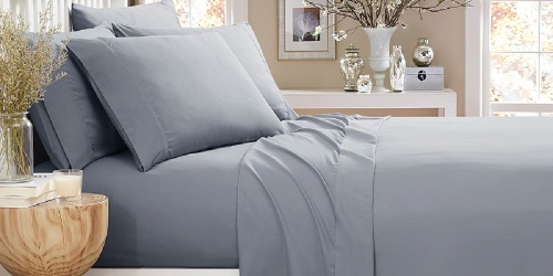 Microfiber 6-Piece Sheet Sets ALL Sizes Only $12.74 on Zulily.com