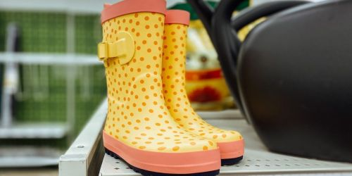 Sun Squad Kids Garden & Rain Boots Only $10 on Target.com (Regularly $15)