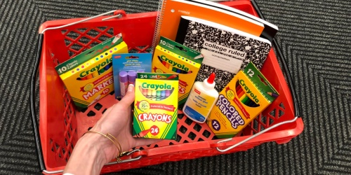 Staples School Supplies from 25¢ | Erasers, Notebooks, Crayons & More