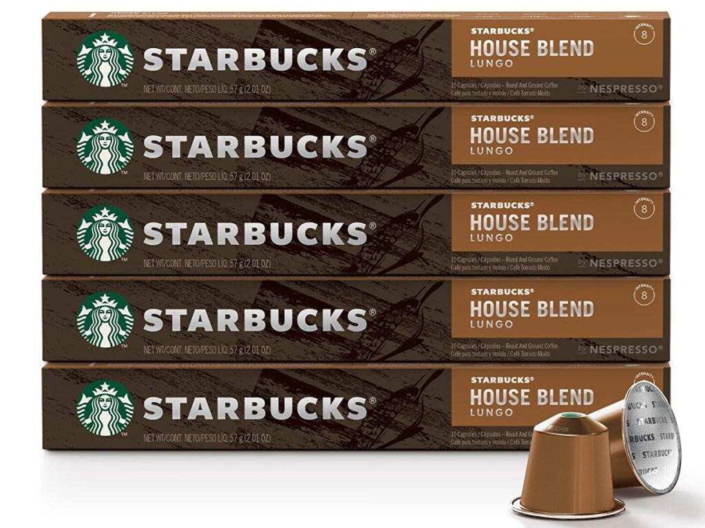 Starbucks Nespresso 50-Count Capsules