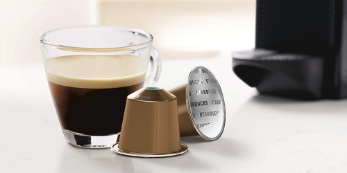Starbucks Nespresso 50-Count Capsules Only $23.67 Shipped on Amazon | Just 47¢ Each