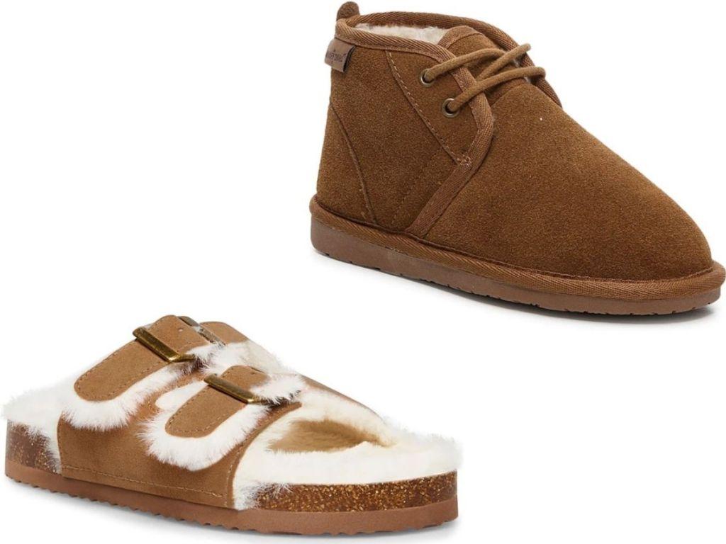 Steve Madden Girls Sandals and Kids uniex Chukka Boots by Minnetonka