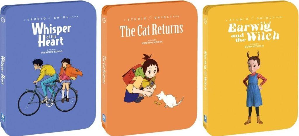 Studio Ghibli Movie Steelbooks