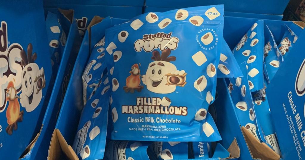 extra large bag of stuffed marshmallows