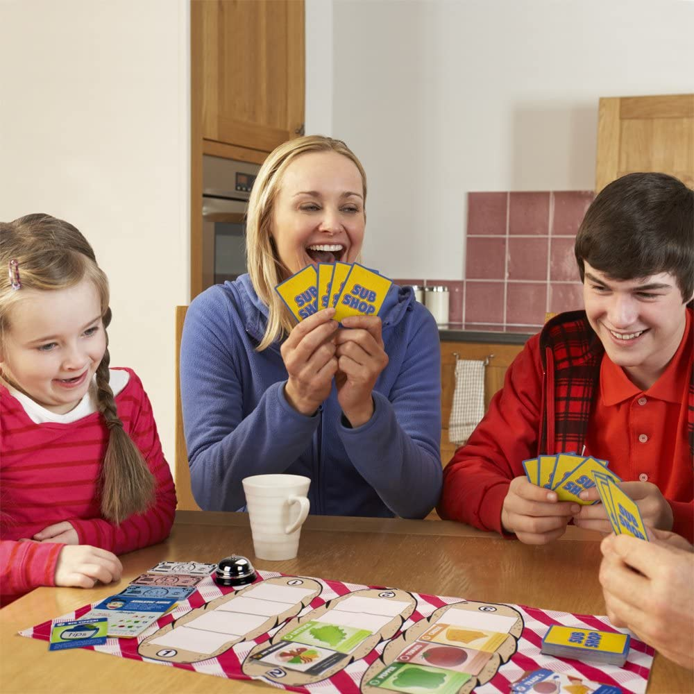 family playing Sub Shop Game