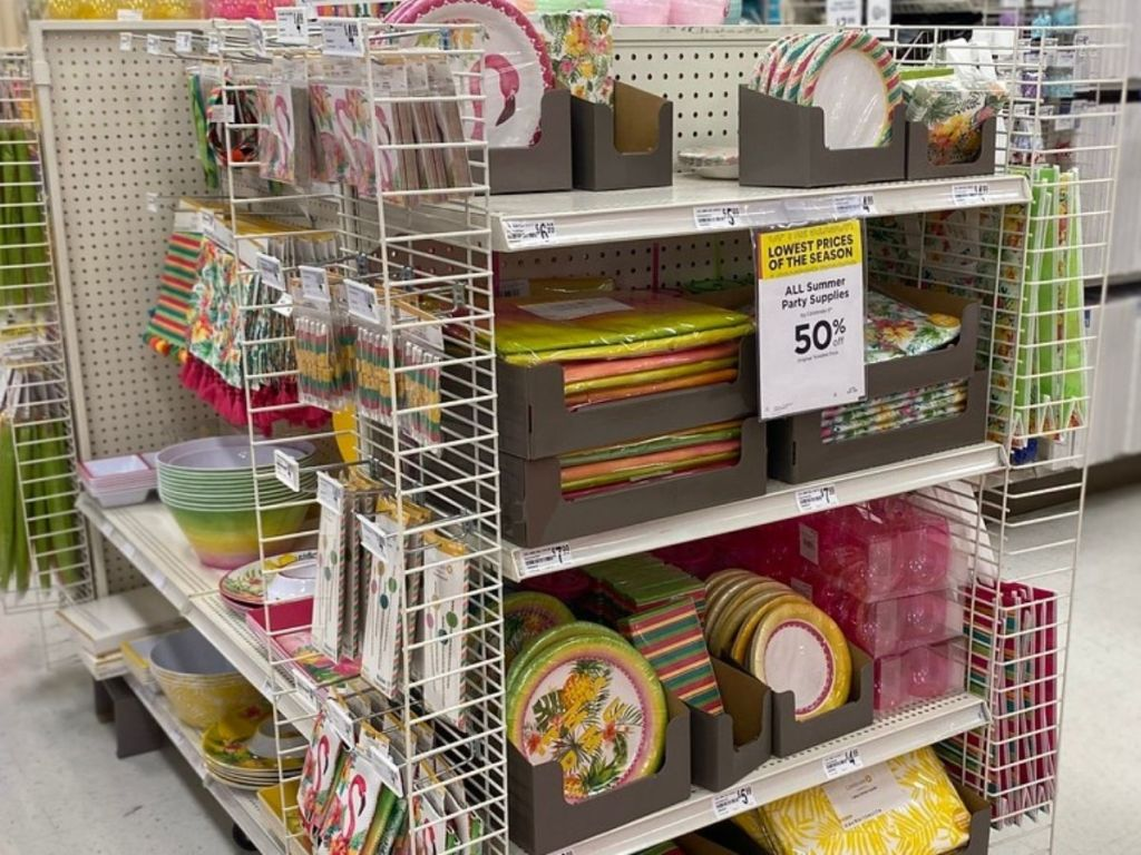Summer Party Decor at Michaels