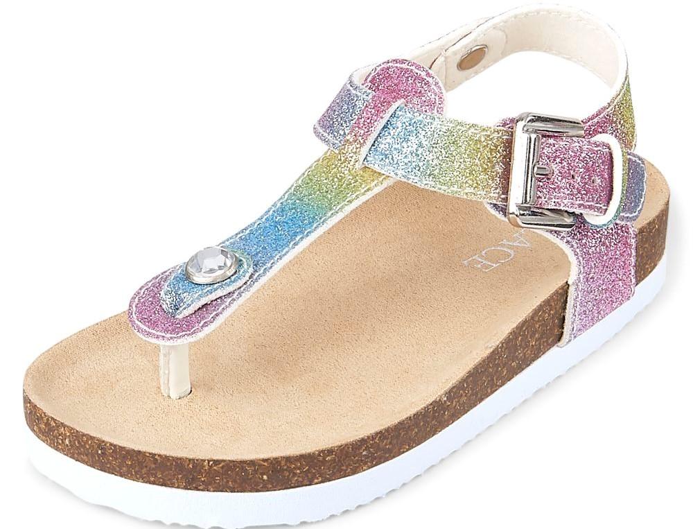 Girls Glitter Sandal
