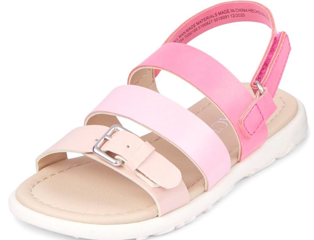 pink girls sandal