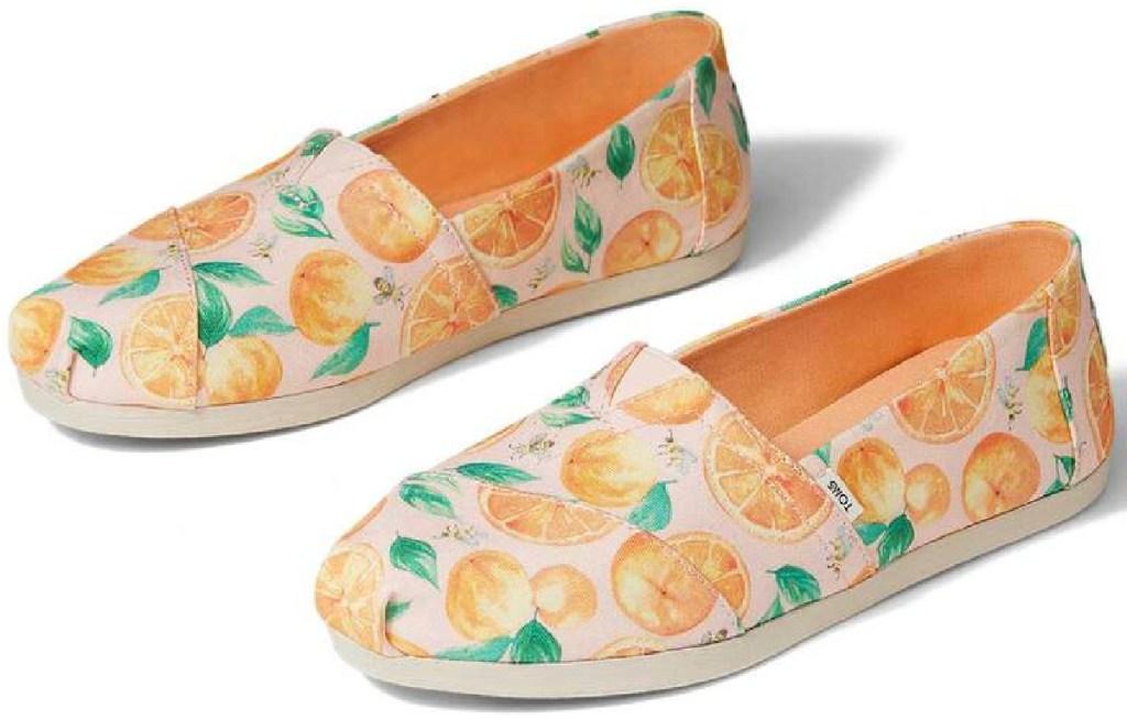 TOMS Alpargata Oranges