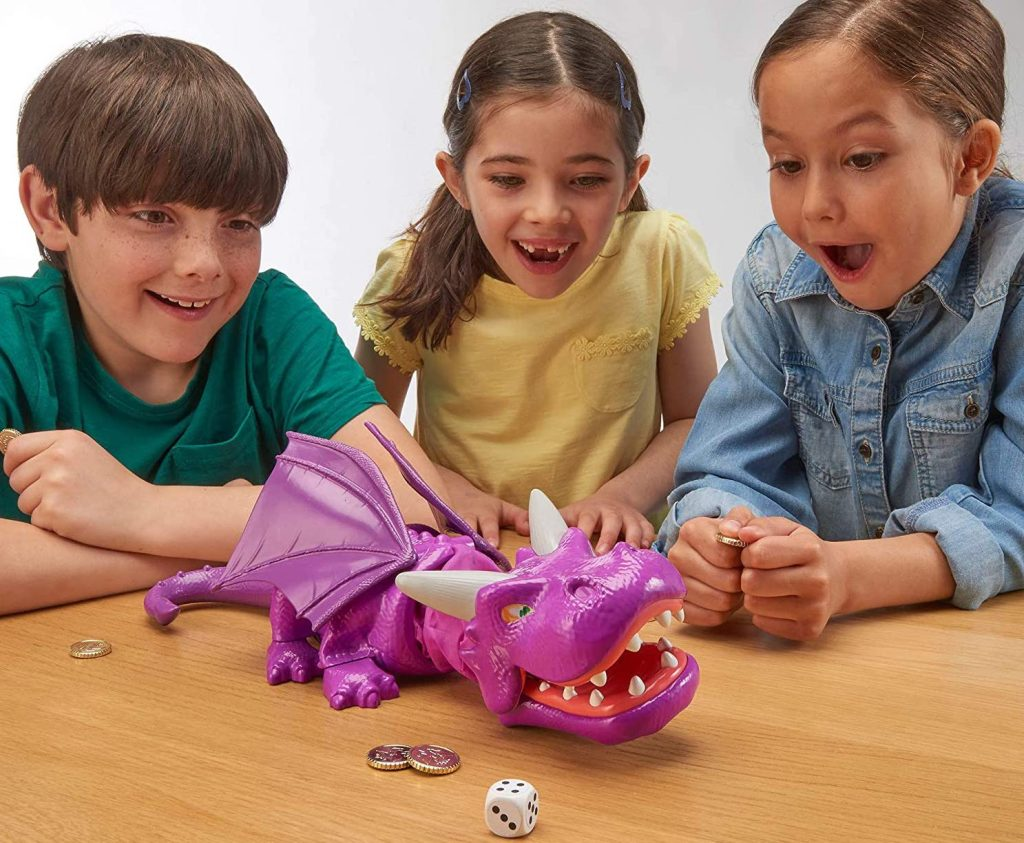 TOMY Snap Dragon Action Board Game