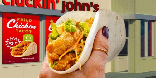FREE Fried Chicken Taco at Taco John's w/ Purchase   July 6th Only
