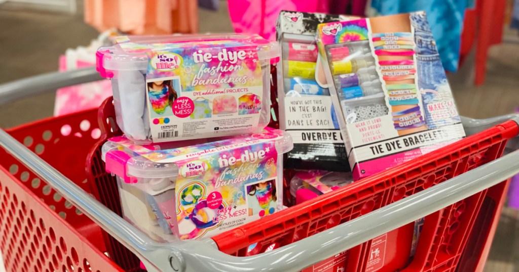 kids crafting kits in Target cart