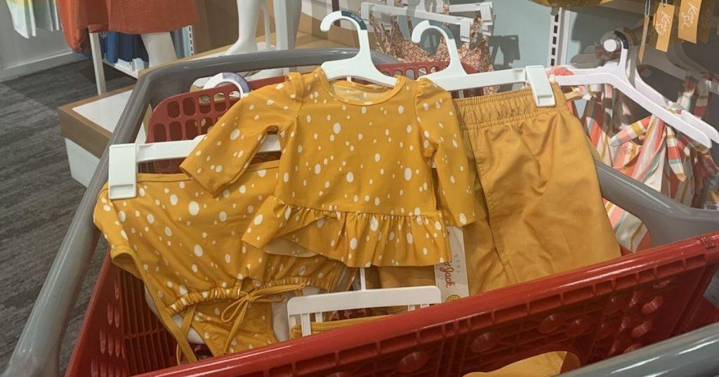 Target Matching Family Swimwear