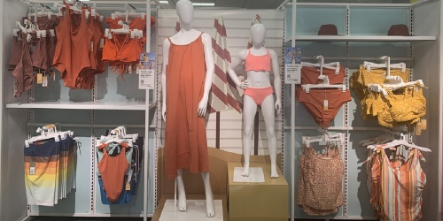 Target's Matching Swimwear Line Is Family Beach Goals & It Includes Plus Sizes
