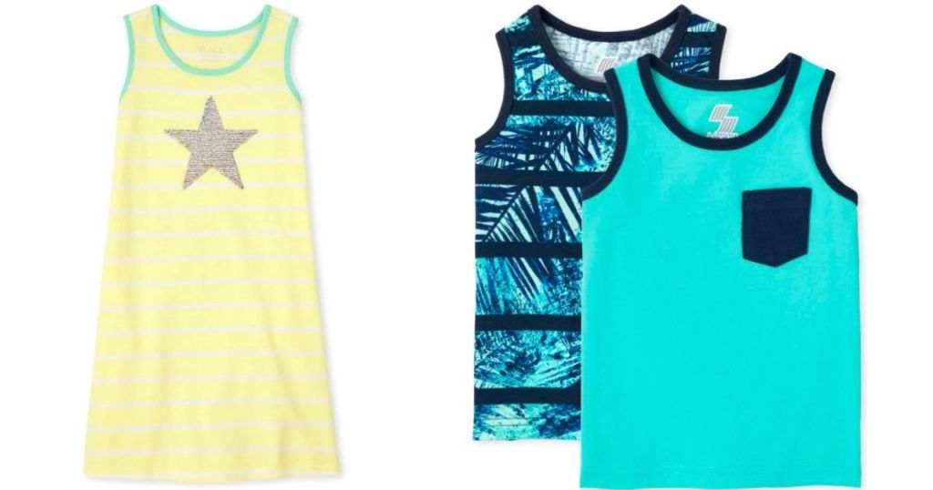 The Children's Place Dress and Tanks