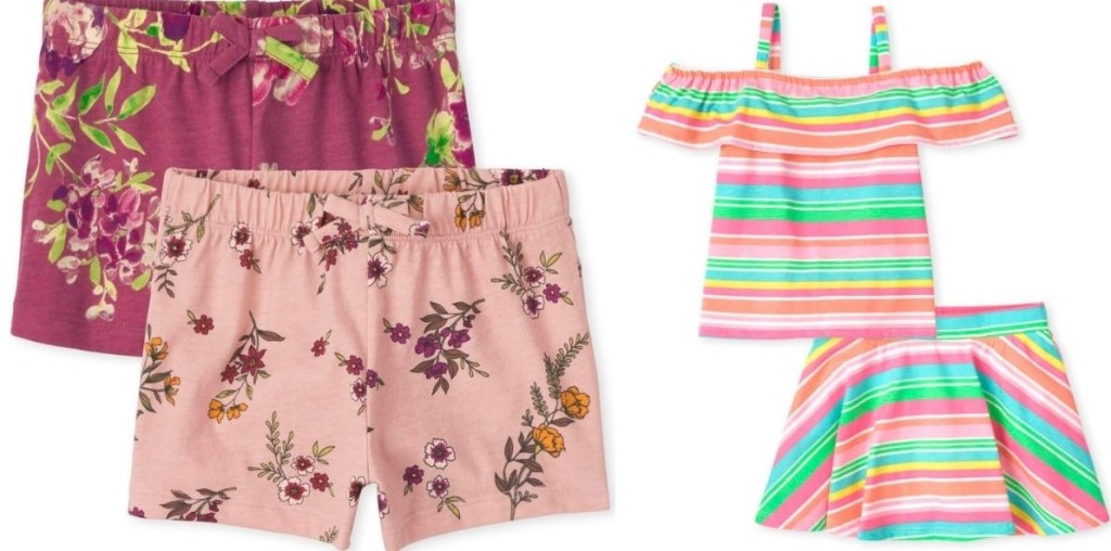 The Children's Place Shorts and Outfit