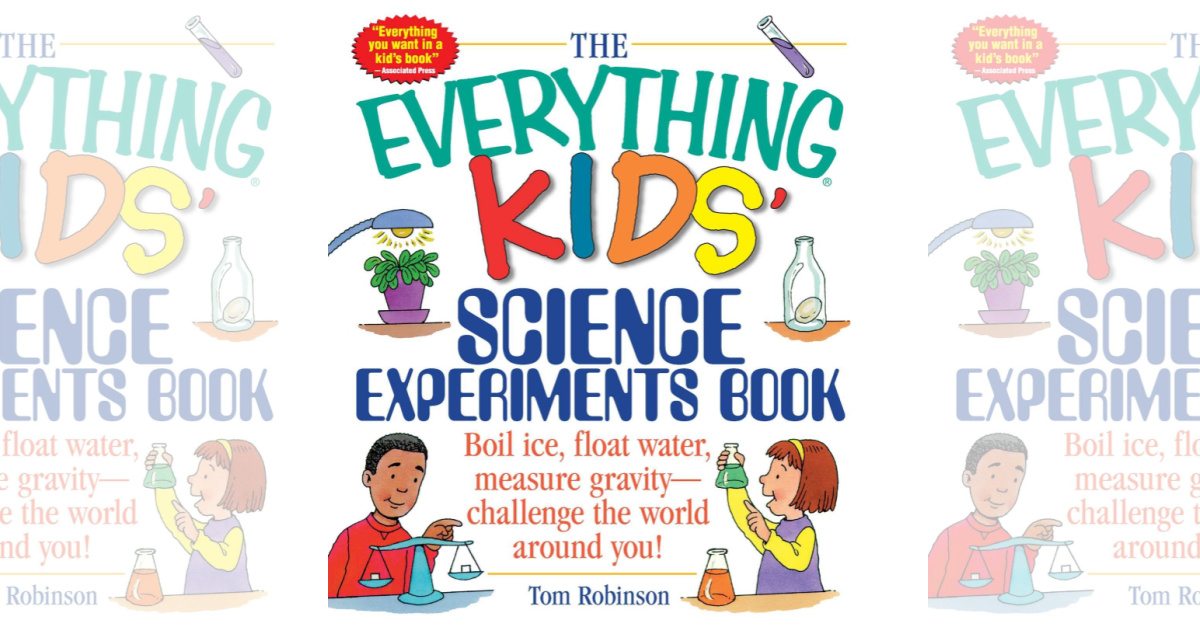 The Everything Kids' Science Experiments Book cover