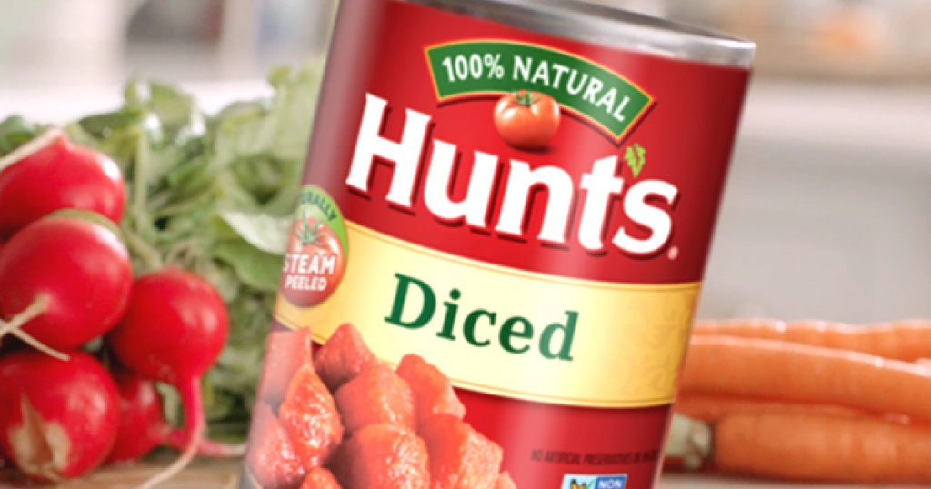 Hunts Diced Tomatoes Can