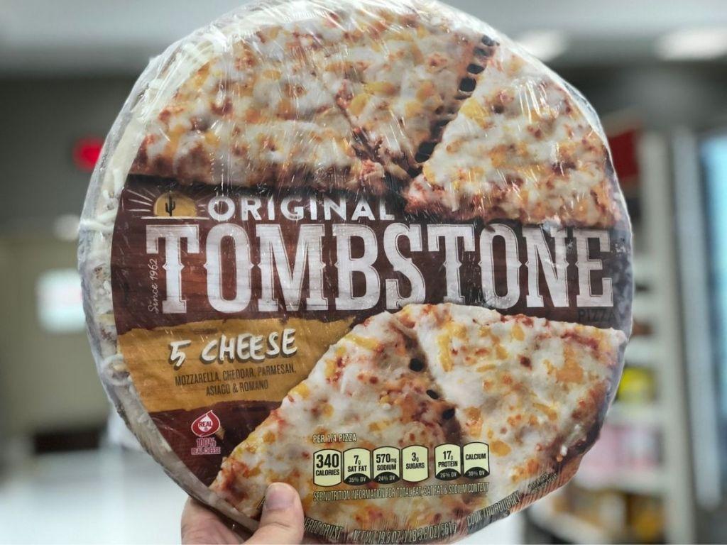 Tombstone frozen pizza