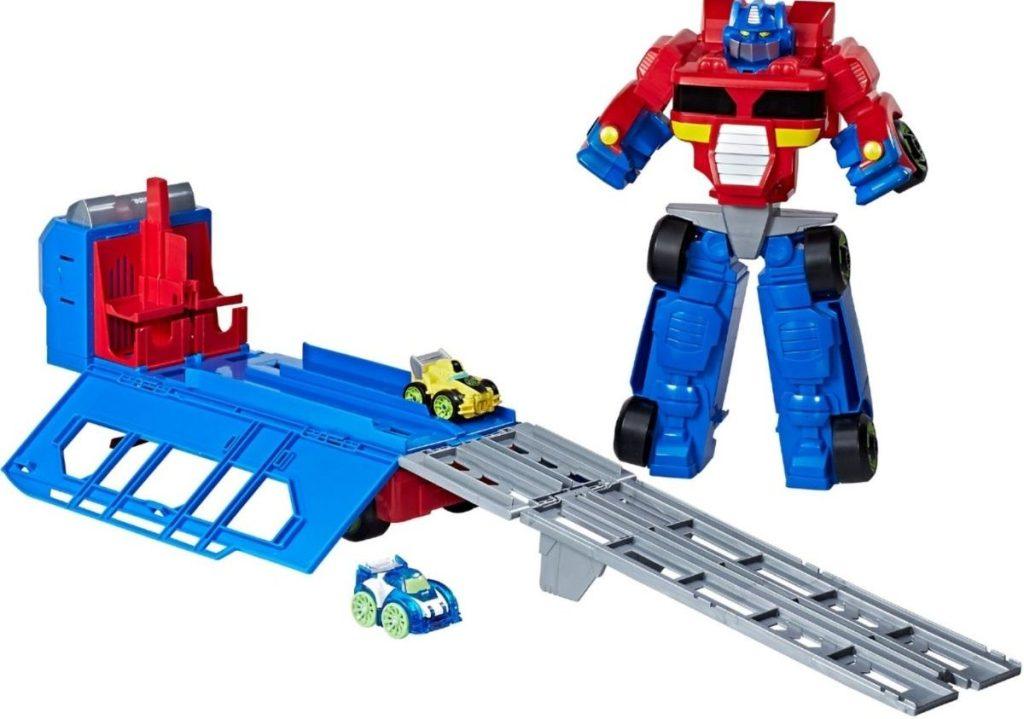Optimus Prime Trailer Toy by PlaySkool heroes