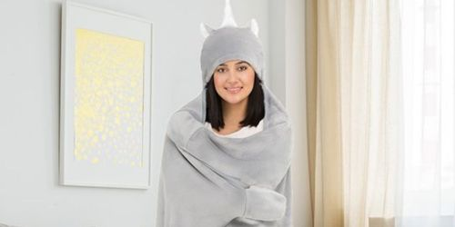 Hooded Throw Blankets from $10.99 on Zulily (Regularly $45)