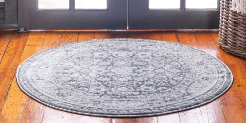 Unique Loom 6′ Round Area Rug Only $38.98 Shipped on Amazon
