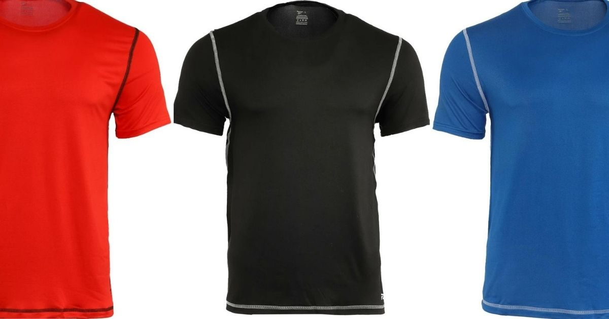 5 Reebok Men's Tees Only $44 Shipped (Regularly $75) | Just $8.80 Each