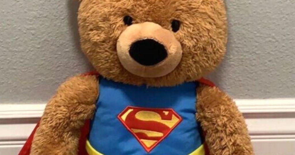 superman teddy bear