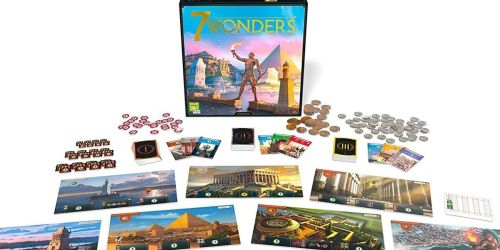 7 Wonders Board Game Just $29.99 Shipped on Amazon (Regularly $60)