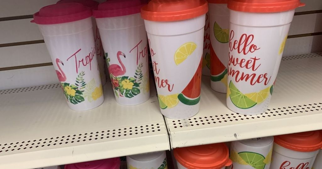 hello sweet summer tumblers and straws