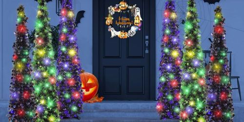 5-Foot Black Halloween Tree Just $26.59 Shipped (Regularly $40) | Amazon Prime Deal