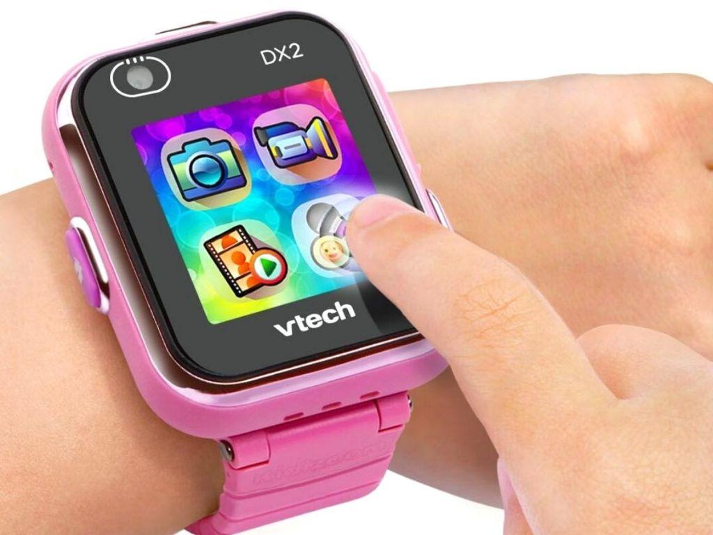 Pink VTech smart watch