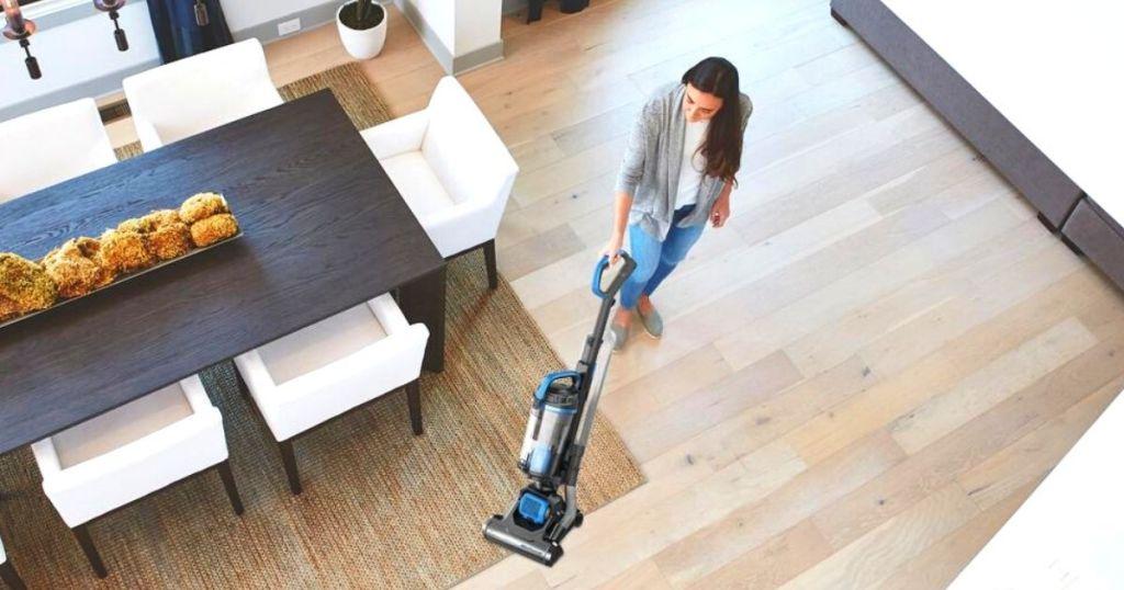 Eureka vacuum in action