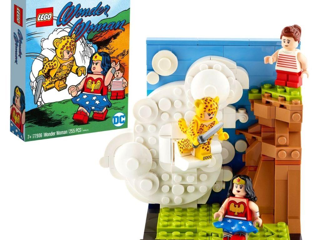 LEGO wonder woman set