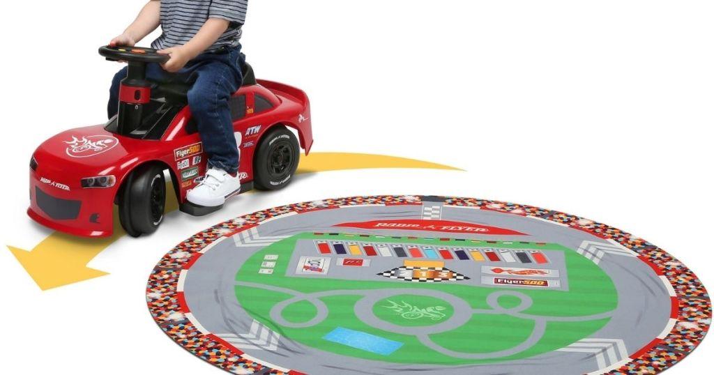 Radio Flyer, Super Speedway 6V Racer, Battery-Powered Ride-on Car