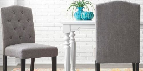 Upholstered Dining Chair Set Only $107.55 Shipped on HomeDepot.com (Regularly $139)