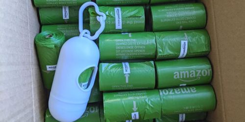Amazon Basics Pet Waste Bags 250-Count w/ Dispenser Clip Just $7 Shipped (Regularly $11)