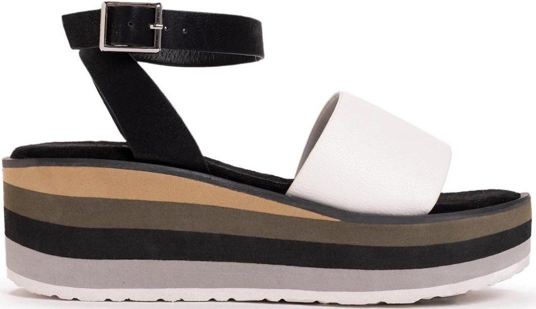 Muk Luks Women's Groove Time Platform Sandals
