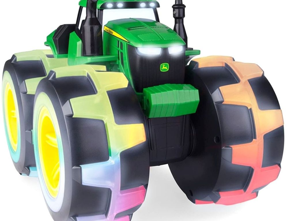 colorful tractor